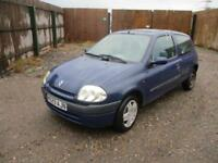 2000 Renault Clio 1.2 MTV Ltd Edn Petrol Manual 3 Door Hatchback Blue Long MOT