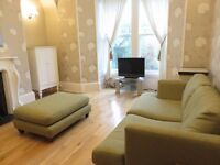 For Lease, furnished one bedroom self contained ground floor apartment, Ferryhill Place, Aberdeen.