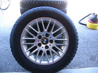 BMW Winter TIres and Rims 225/55/16
