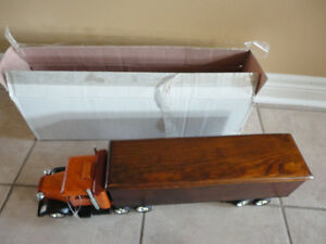 Brand new in box decorative wooden large truck storage London Ontario image 3