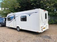 2015 Bailey Pegasus Rimini 4 Caravan FIXED SINGLE BEDS, MOTOR MOVER, BARGAIN !!