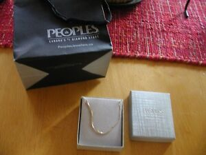 10 K gold necklace-Brand New