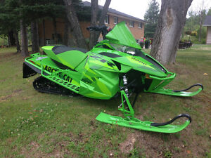 2016 arctic Cat ZR 8000 Limited with extras