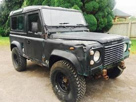 1985 Land Rover 90 Defender 3.5 V8, County Station Wagon, exportable
