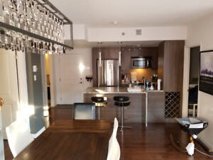 Full furnished beautiful one bedroom for rent near train station
