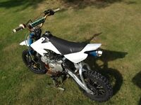 Custom Stomp 140 mx welsh pit bike - Honda CRF 50 - offers?