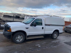 2007 F350, Regular Cab, Long box, 2WD with Canopy
