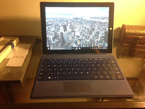 SURFACE 3 W/ PEN AND KEYBOARD