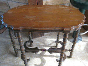antique high end or sofa table