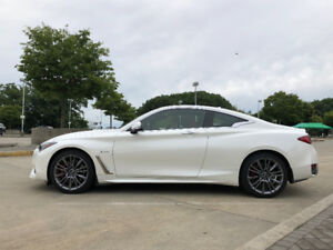 2017 Infiniti Q60 3.0t Red Sport 400 Coupe Lease Takeover