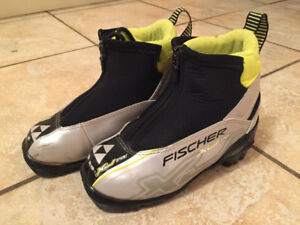 Kids XJ Sprint Fischer Cross Country Ski Boots