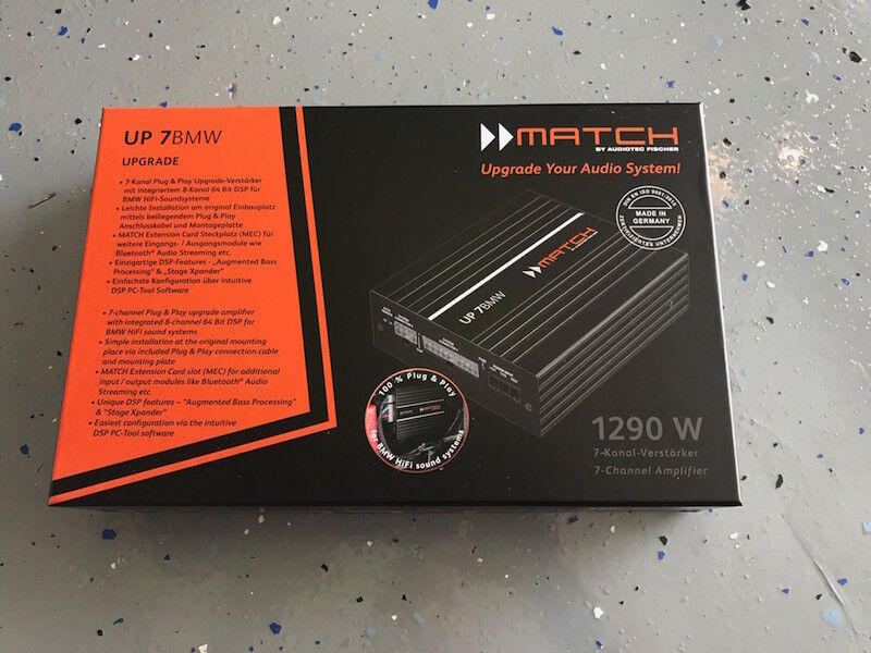 Match by Audiotec Fischer  UP 7BMW DSP Amplifier - FREE UPS SHIPPING    Shopping Bin - Search eBay faster