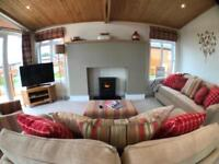Stunning lodge for sale on Lakside development Cornwall Only 1hr from Plymouth