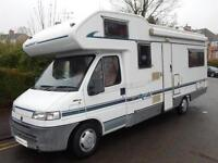 Swift Royale 630 Ltd Edition, 1997, 6 Berth, 4 Belts, U-Shaped Lounge, Warranty!