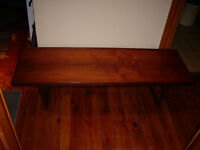 Vintage mid century teak coffee table