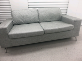 Free Delivery Grey 3 Seater Sofas