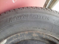 MOVING MUST SELL 14in All Season Motomaster Tires $50 OBO