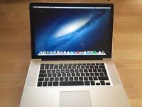 "macbook pro 15"" core i5 500gb hard drive 4gb ram 2.5 processor microsoft office photo shop"