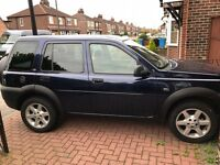Landrover freelander 1.8 petrol, priced to sell.