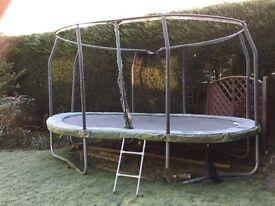 Jumpking 15' x 10' oval trampoline