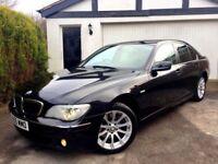 **STUNNING** 2005 BMW 730D SE BLACK BEIGE LEATHER 3.0 DIESEL AUTOMATIC