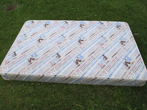 Twin sized box spring (I think) Strathcona County Edmonton Area image 1