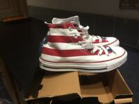 Converse high top trainers, Size -UK ladies 5 never worn brand new in box ladies