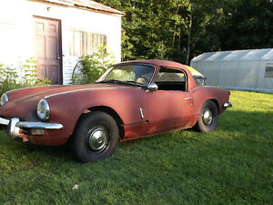 Triumph Spitfire 1968 option hardtop
