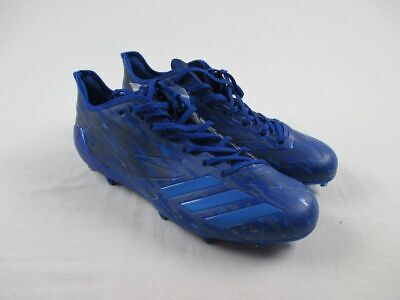 NEW adidas Adizero 5-Star 6.0 Dipped - Blue Cleats (Men's Multiple Sizes)