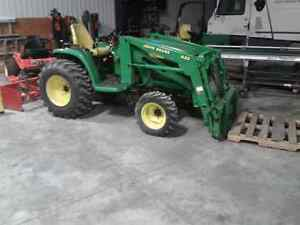 John Deere 4410 with 430 Loader