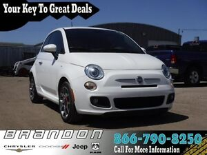 2015 FIAT 500 Sport -  Power Windows - Low Mileage