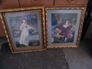 old needlepoint pictures