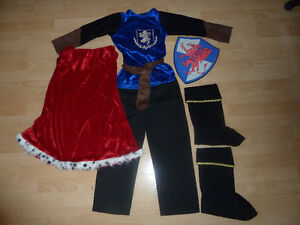 Costume d'Halloween Chevalier 6-7 ans