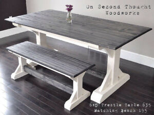 Quality, Custom, Handcrafted Rustic Dining Tables