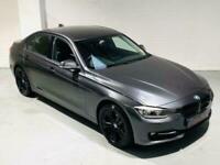 BMW 3 SERIES 320D SPORT AUTO F30 *£30 TAX* GREY 2012 4 DOOR 2.0 DIESEL 185