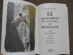 53 ascensions et histoires en montagne