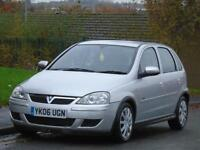 VAUXHALL CORSA 1.4i 16v ( a/c ) AUTOMATIC 2006 DESIGN,2 OWNER,ONLY 38 K,LONG MOT