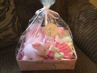 Baby gift box pink