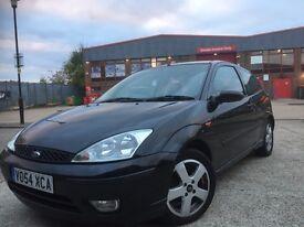 Ford Focus 1.8 black 3dr