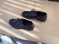 Men's lace up shoes, size 12