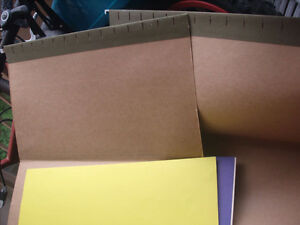 Continental Legal Size Filing Folders/Dividers