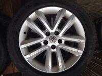 Vauxhall vectra SRI Alloys wheels 225/50/17