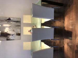 Table en verre (salle à manger)  Structube