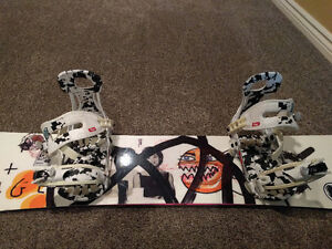 Rome Agent 48 Board, with Ride Beta Bindings