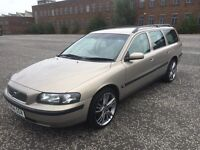 Volvo V70 2.4 2004 Manual 110k Long Mot £850 Bargain