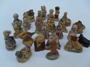 24 Piece small porcelain figurines that came in Red Rose Tea Cornwall Ontario image 3