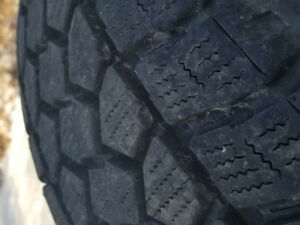 4 TOYO OPEN  COUNTRY  WINTER LT 275 65 20 Great Condition