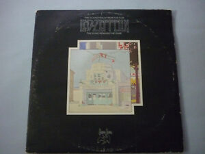 LED ZEPPELIN-DOUBLE VINYL RECORD SONGS REMAINS THE SAME