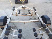 Snipe Boat Roller Trailer 1400kg