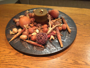 Fall Table Centrepiece